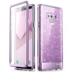 Image 4 - Do Samsung Galaxy Note 9 Case i blason Cosmo Full Body Glitter marmurowa osłona ochronna zderzaka z wbudowanym ochraniaczem ekranu