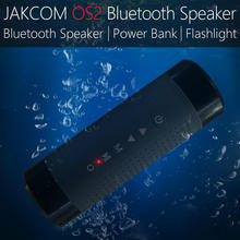 JAKCOM OS2 Smart Outdoor Portable Wireless Bluetooth Speaker Mobile Play Call Waterproof Bicycle MP3 Flashlight Support