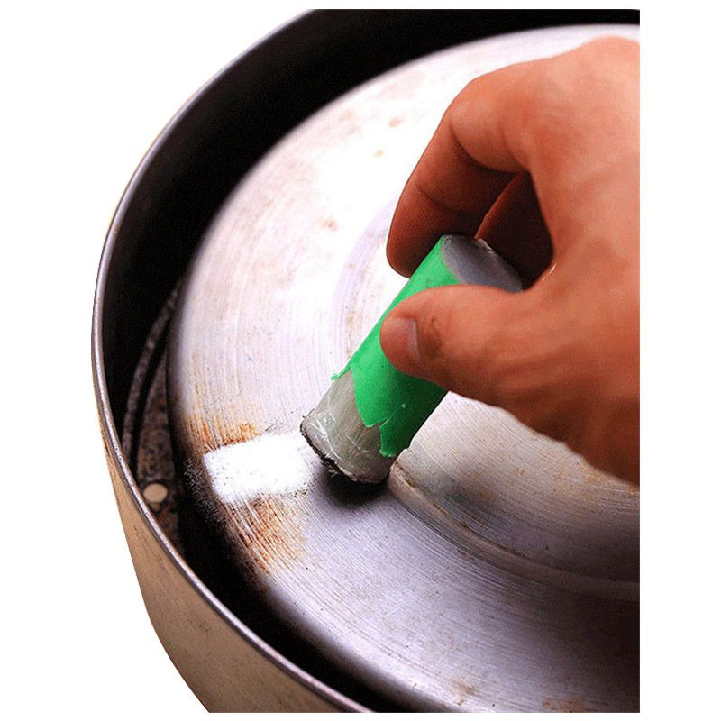 1 pcs Magic Stainless Steel Rust Remover Cleaning Detergent Stick Metal Wash Brush