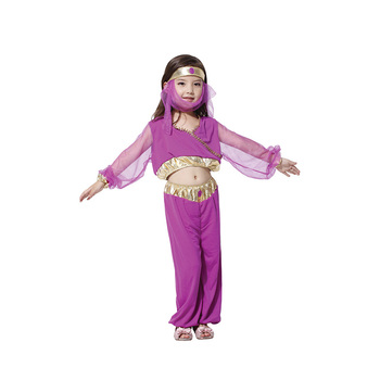 Baby Girls Lovely Arab Princess Costume Cosplay Kids Children Halloween Carnival Fantasia Princess Cosplay Dress Up carnival halloween costume for women girl pink fairy princess costume dress fantasia adult cosplay clothing