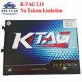 DHL Libre Limiation V2.13 No Tokens KTAG Ktag K-tag ECU herramienta de Programación K TAG ECU de la Viruta Tunning 6.070 V2.13 K-TAG Herramienta de Programación ECU