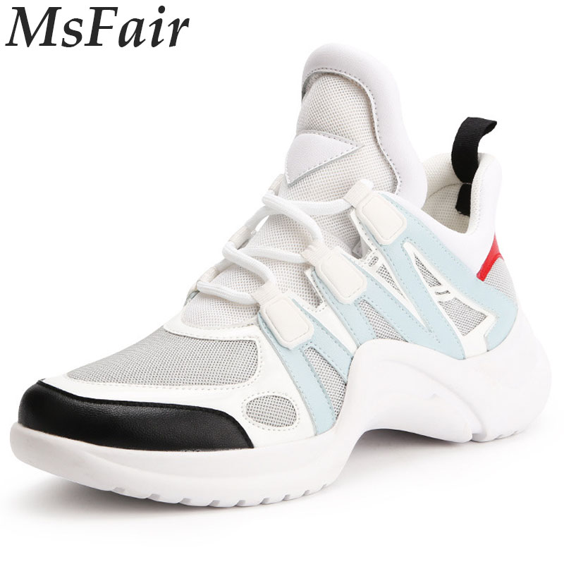 MSFAIR 2018 New Women Running Shoes Walking Shoes Woman Brand Sport Shoes For Women Super Light Outdoor Athletic Jogging Light camel shoes 2016 women outdoor running shoes new design sport shoes a61397620