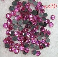 100 gross/14400 stks 4.6-4.8mm) ss20 MC steentjes motief ontwerp hot fix glas stenen voor kledingstukken decoraties
