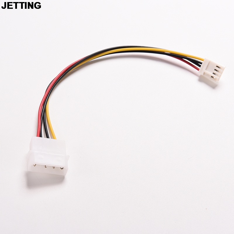 JETTING 1PC 4Pin IDE Power Supply to Floppy Drives Adapter Cable Computer PC Big 4p Small 4p Power Cord Floppy Drive Connector huntkey power to calm the king rating standard 230w engineering computer host pc power supply