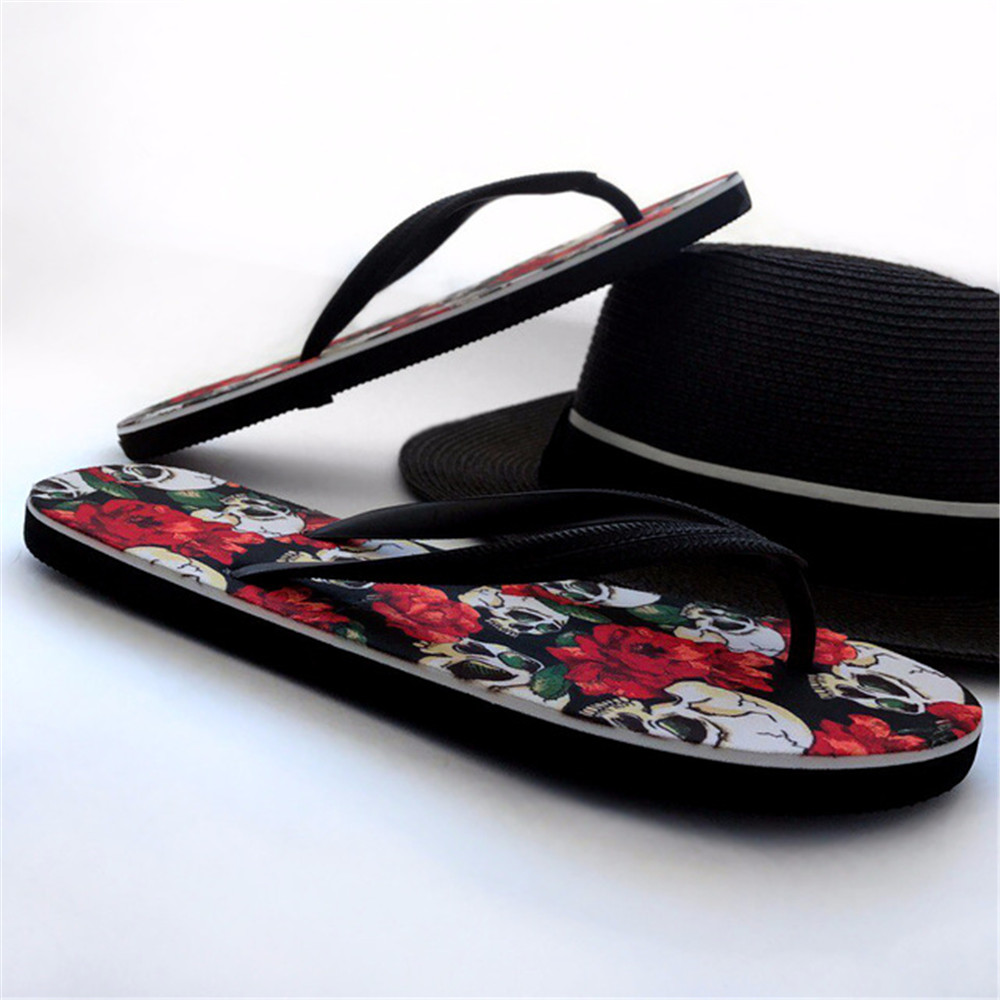 Shoes Hearty New Flip Flops Men Summer Shoes Casual Dinosaur Printing Beach Flip Flops Massage Flats Outdoor Sandals Plus Size 39-44 Buy Now Men's Shoes