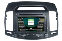 MTK3360 Faster Speed 512Mb RAM WINCE 6 0 Car DVD Player 1080P Gps Fit For HYUNDAI