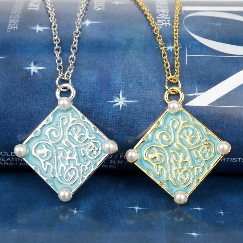 HANCHANG Ведьмак 3 Дикая Охота гералт волк ожерелье, Triss ожерелье с медальоном, Yennefer колье ожерелье, игры ювелирные изделия