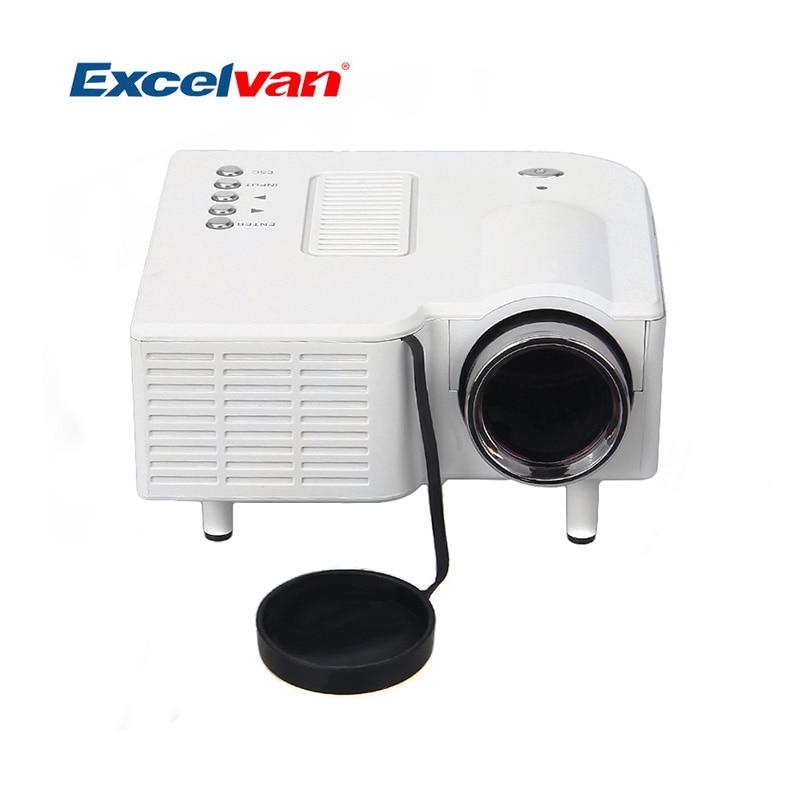 Aliexpress Com Buy Excelvan Cl720 Full Hd Home Theater: Aliexpress.com : Buy Excelvan UC28 Portable Mini