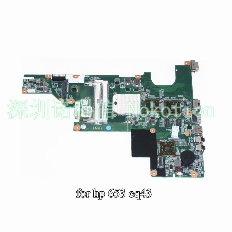 NOKOTION 646981-001 for HP Compaq CQ43 635 laptop motherboard  Radeon Graphics 482583 001 for hp compaq 6910p laptop motherboard with 128mb graphics ddr2