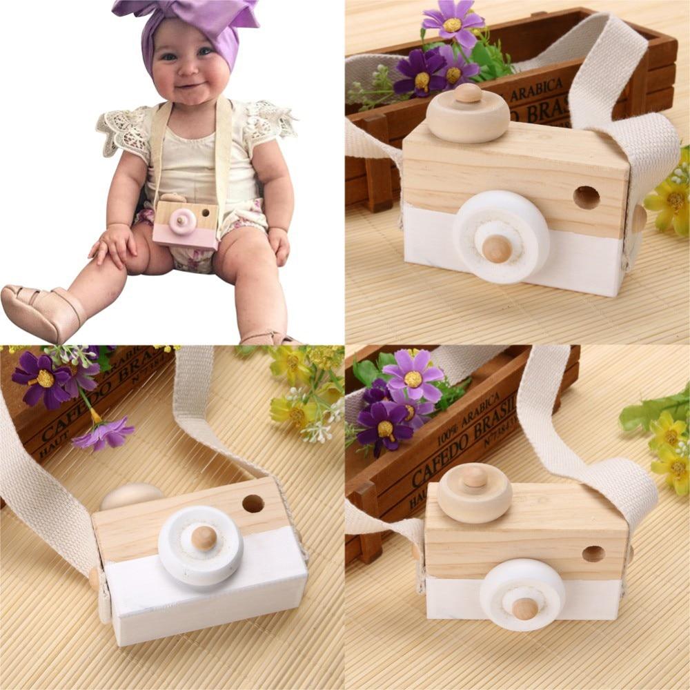 Милая деревянная подвесная игрушка для камеры в скандинавском стиле, 10*8*5,5 см, предметы для декора комнаты, детская игрушка для дня рождения,...