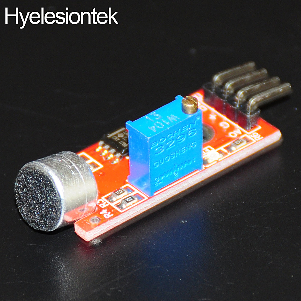 US $0 67 9% OFF|Microphone Sensor Sound Sensors Detector Module For Arduino  AVR PIC 5V Voice MIC Electronic DIY Kit Integrated Circuit Detection-in