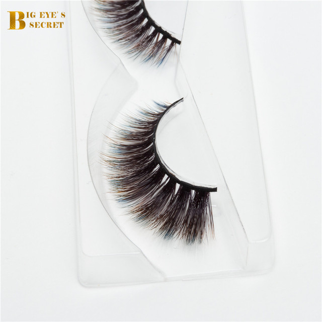 56ebb74b986 New Fashional Colorful 3D strip lashes Faux Mink Eyelash Extension Best  selling wholesale private label eyelashes