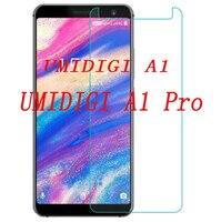 2.5D Gehärtetem Glas Für UMIDIGI A1 Pro Schutzhülle Film 9 H Explosion-proof LCD Screen Protector Für UMI A1 pro