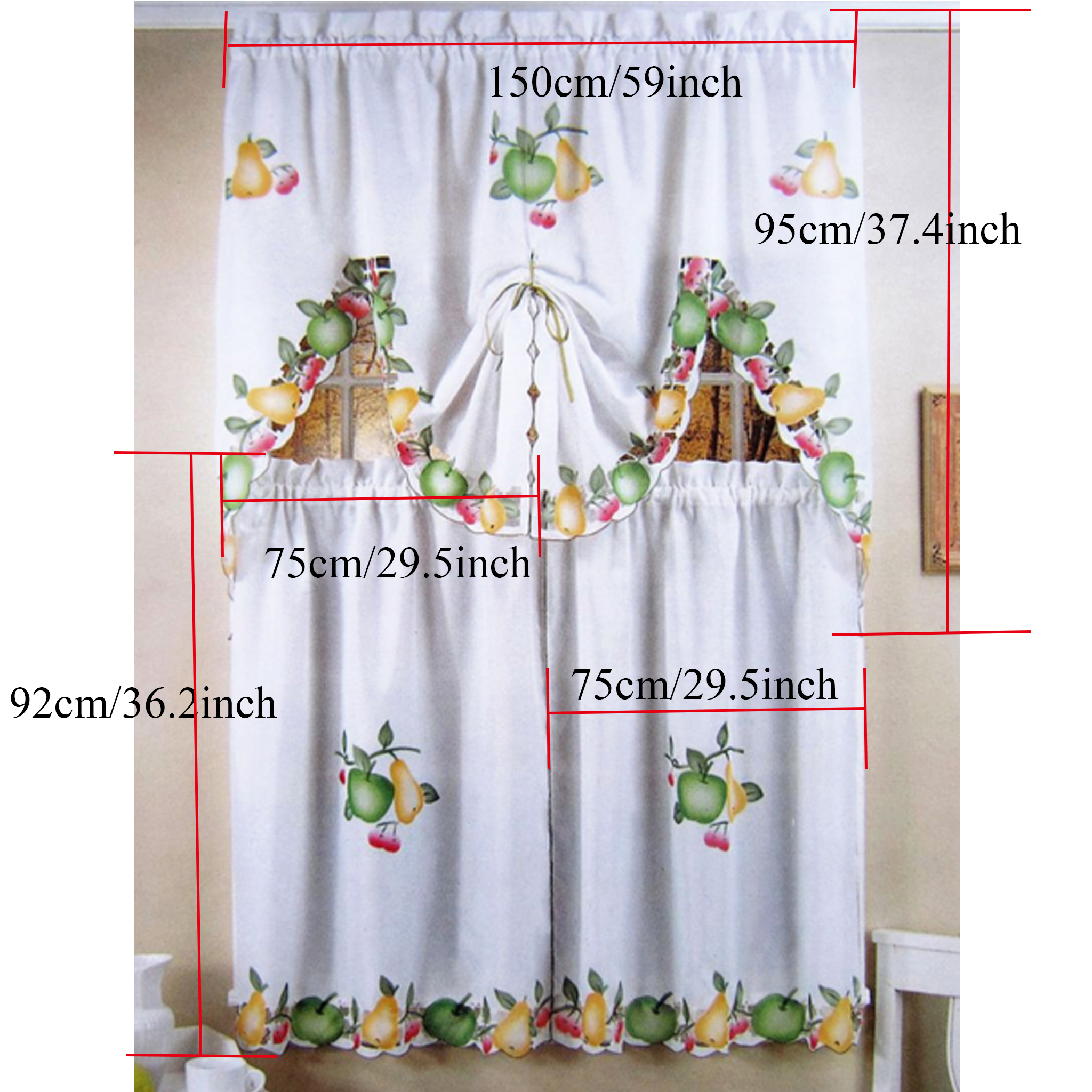 sheer p valance window curtain treatments panel emelia