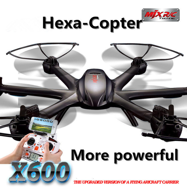 MJX X600 2.4G 6-Axis RC Drone  With 0.3MP  Wifi FPV C4005 Camera  More Powerful than Quadcopter RC Aircraft Best Gift for Boys