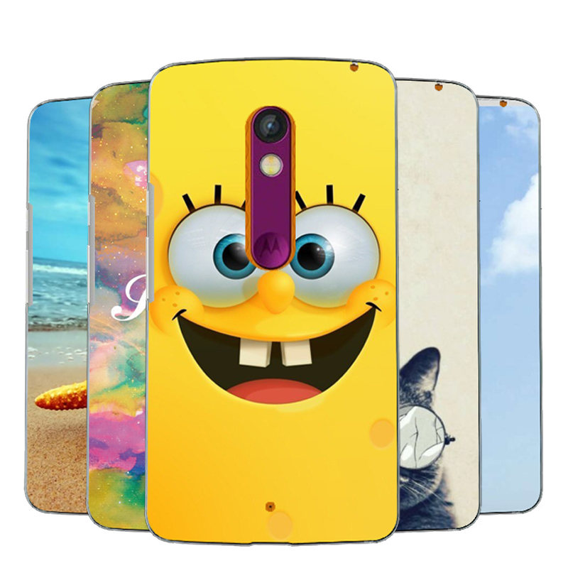 NEW Colored Back Cover case for motorola moto x play moto X3 Lux XT1562 XT1563 5.5inches Hard PC Painting cover for Moto x3 Case