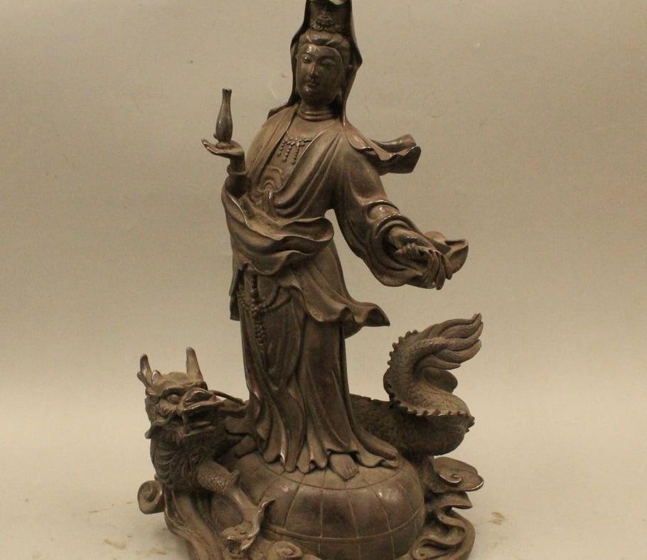 Buy 15 China Tibet Purpel Bronze Dragon