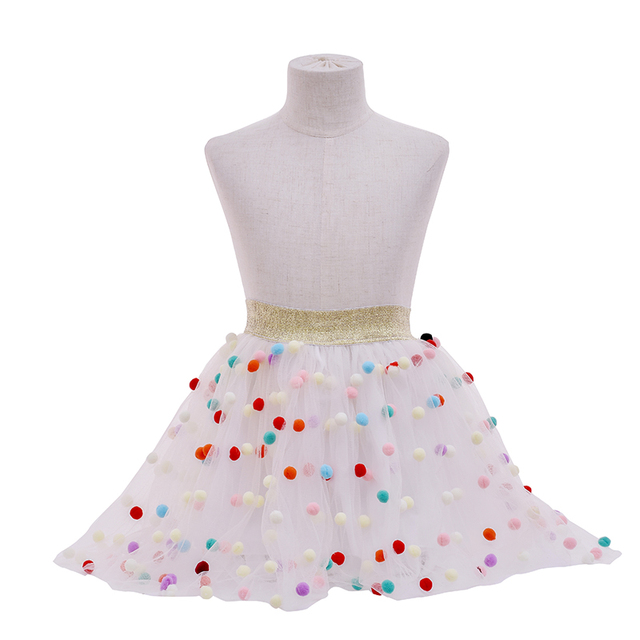 Girls Skirts Tutu Summer Children Kids Clothes Casual Toddler Girl Bow Ballet Dance Party Tutu Skirt Baby Clothing