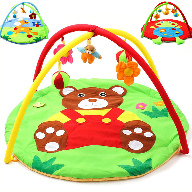 Kids Game Blanket Toy Bundle Baby Gym Activity Baby Play Mat Baby Crawling Creeping Carpet Magic The Gathering Playmat with Toys 3 in 1 newborn infant baby game bed baby toddler cribs crawling activity gym mat floor blanket kids toys carpet bedding soft