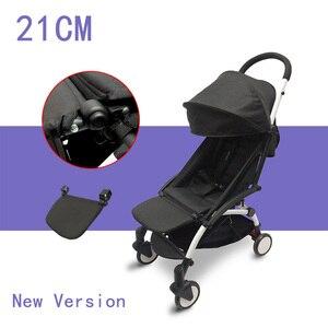 Image 1 - עגלת אביזרי עבור Babyzen Yoyo + הדום תינוק זמן יויה רגל שאר תינוקות עגלות רגליים הארכת Pram רגל לוח 21 cm