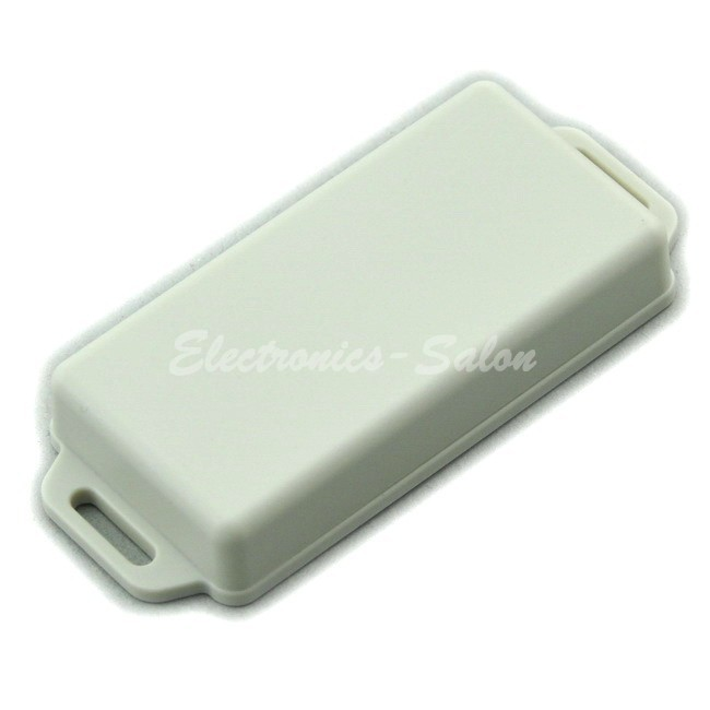 Small Wall-mounting Plastic Enclosure Box Case, White,81x41x15mm, HIGH QUALITY.
