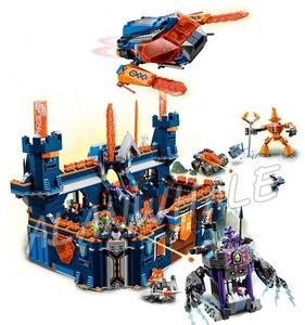 1468 шт Рыцари Knighton замок модель строительные блоки 10706 сборные Кирпичи Детские игрушки игры Nexus совместимы с Lago