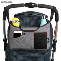 Best Universal Baby Stroller Organizer Bag Large Capacity Storage Diaper Bag With Superior Quality