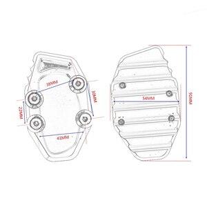 Image 2 - GT Motor Motorcycle CNC Side Stand Vergroten Kickstand voor YAMAHA R3
