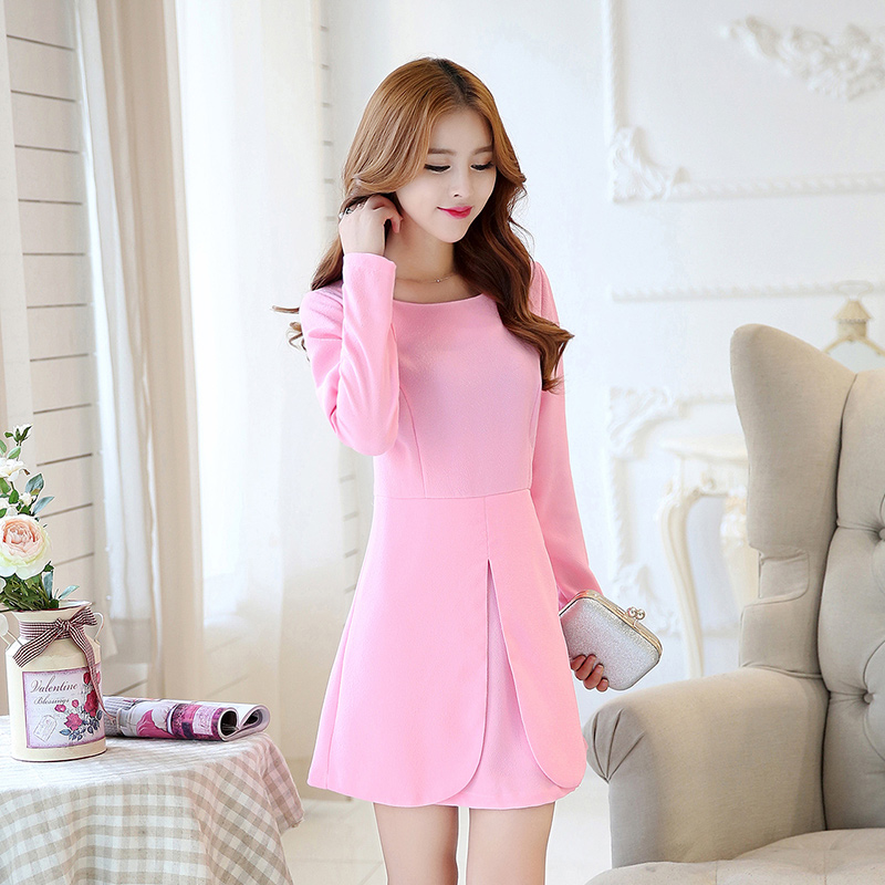 Unique Korean Dress Up Tiny Dresses For Women 2014