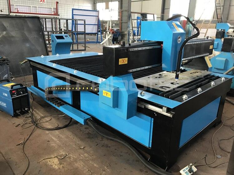 Gorąca maszyna do cięcia plazmowego cnc z regulator wysokości palnika/4x8 stóp maszyna do cięcia plazmowego cnc chiny cena/stół maszyna plazmowa