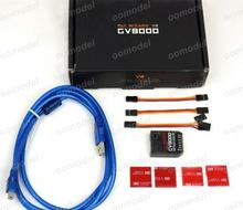 GV8000 V2 Flybarless System 3 axis Gyro for RC Helicopter  FreeTrack Shipping