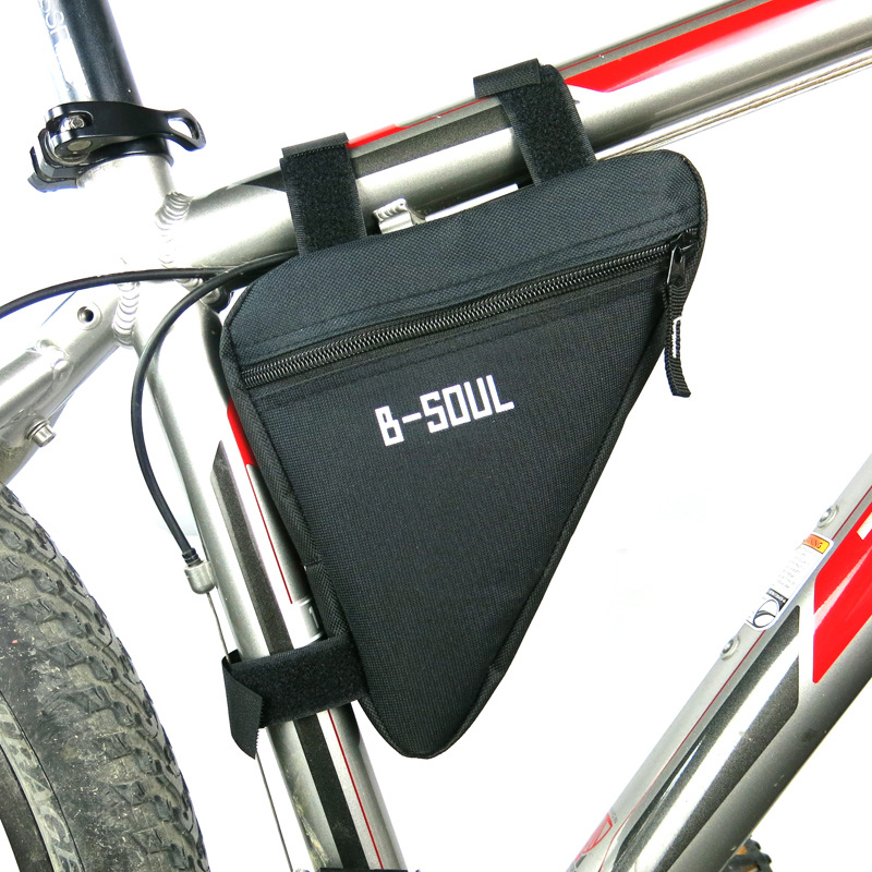 B Soul Waterproof Triangle Cycling Bicycle Bags Front Tube Frame