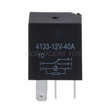 Automotive 12V 40A 4 Pin Relay Long Life Time Delay Automotive Relays For Car(China)