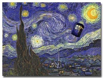 Плакат Гобелен Шелковый телесериала Доктор кто