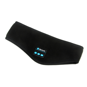 Image 2 - JINSERTA Auriculares deportivos, inalámbricos por Bluetooth, para correr, música, diadema, máscara para dormir, manos libres, altavoces y micrófono incorporados