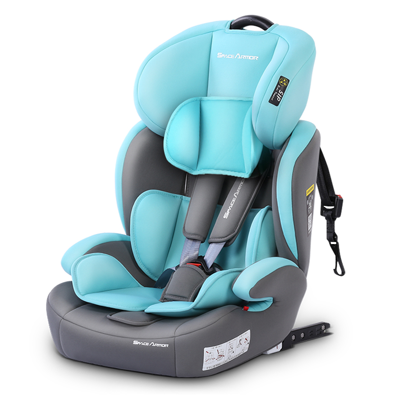 Child Car Seat Isofix Dual Interface Child Safety Seat 0-12Y  Portable Car Seat 5-point Seat Belt Eight Height Adjustment