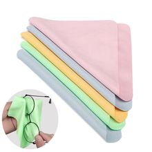 5 Pcs/Pack Lens Eyeglasses Cleaning Cloth Microfiber Phone Screen Cleaner Sunglasses Camera Duster W