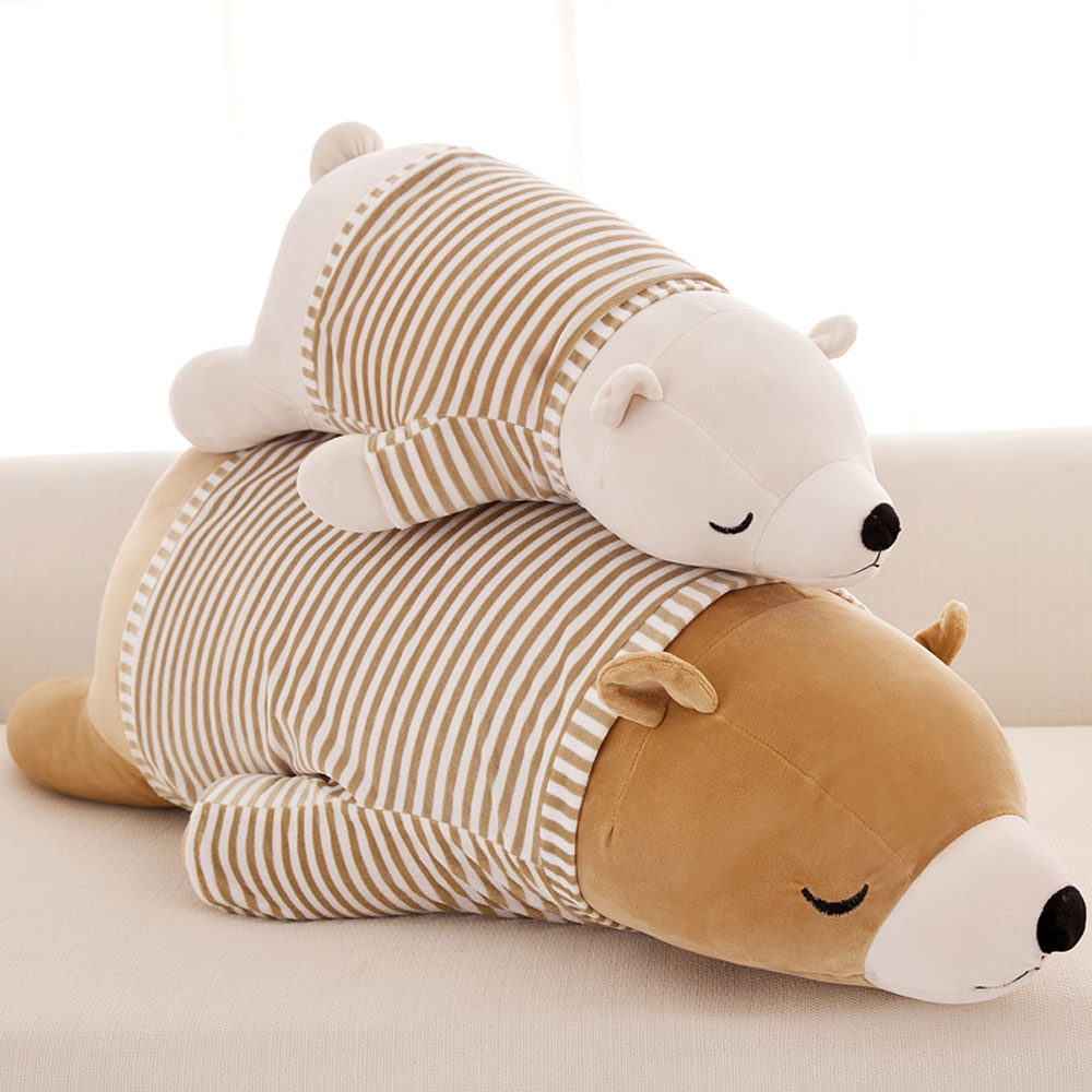 35/50cm Kawaii Dolls Stuffed Animals & Plush Toys for Girls Children Boys Toys Plush Pillow Polar Bear Stuffed Animals Soft Toys