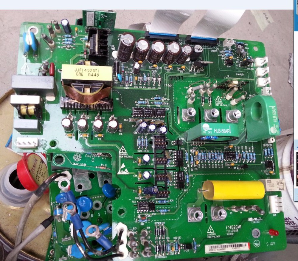 11 kw EV2000 inverter drive board/power board/main board F14B2GM1 30 kw inverter power driven plate placed board ypct31521 1a and etc617143