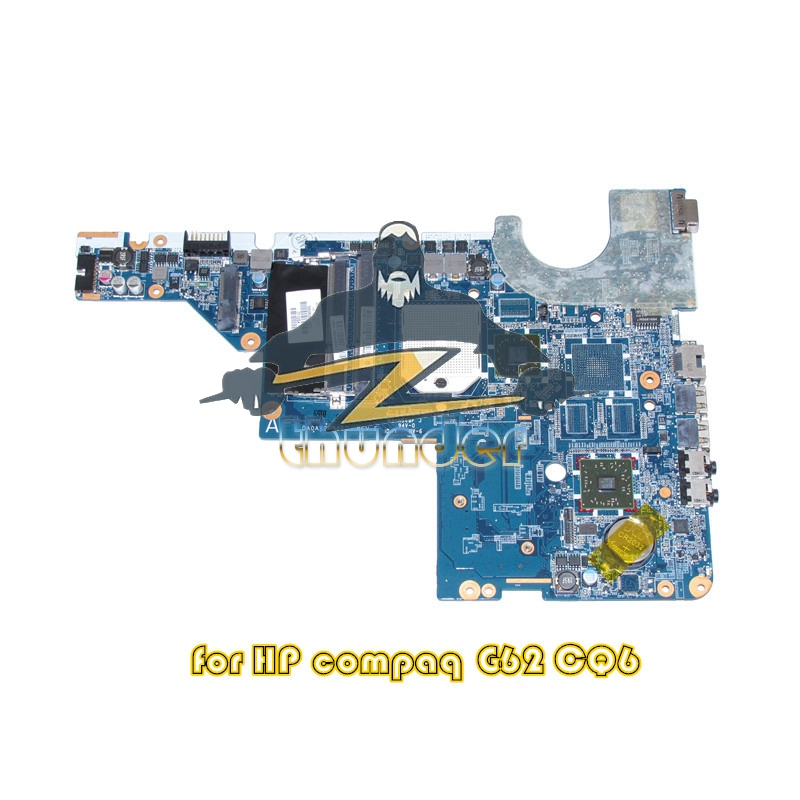592808-001 for HP compaq presario G42 CQ42 G62 CQ62 laptop motherboard ddr3 laptop motherboard 605903 001 fit for hp g62 cq62 notebook pc mainboard ddr3