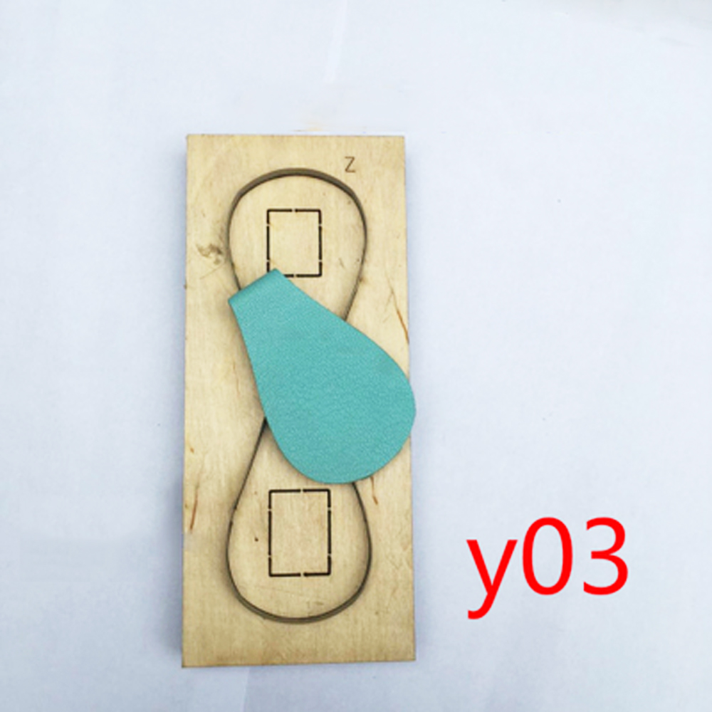 DIY leather craft key ring die cut knife mould multi design for option precise and easy use