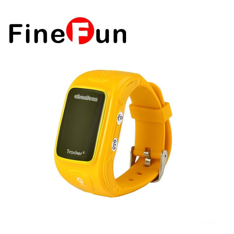 FineFun KT01S Child Smart Watch GPS Tracker Can Call Intercom Voice Mail, GPS Positioning SOS A Key For Help Bracelet Watch smart baby watch q60s детские часы с gps голубые