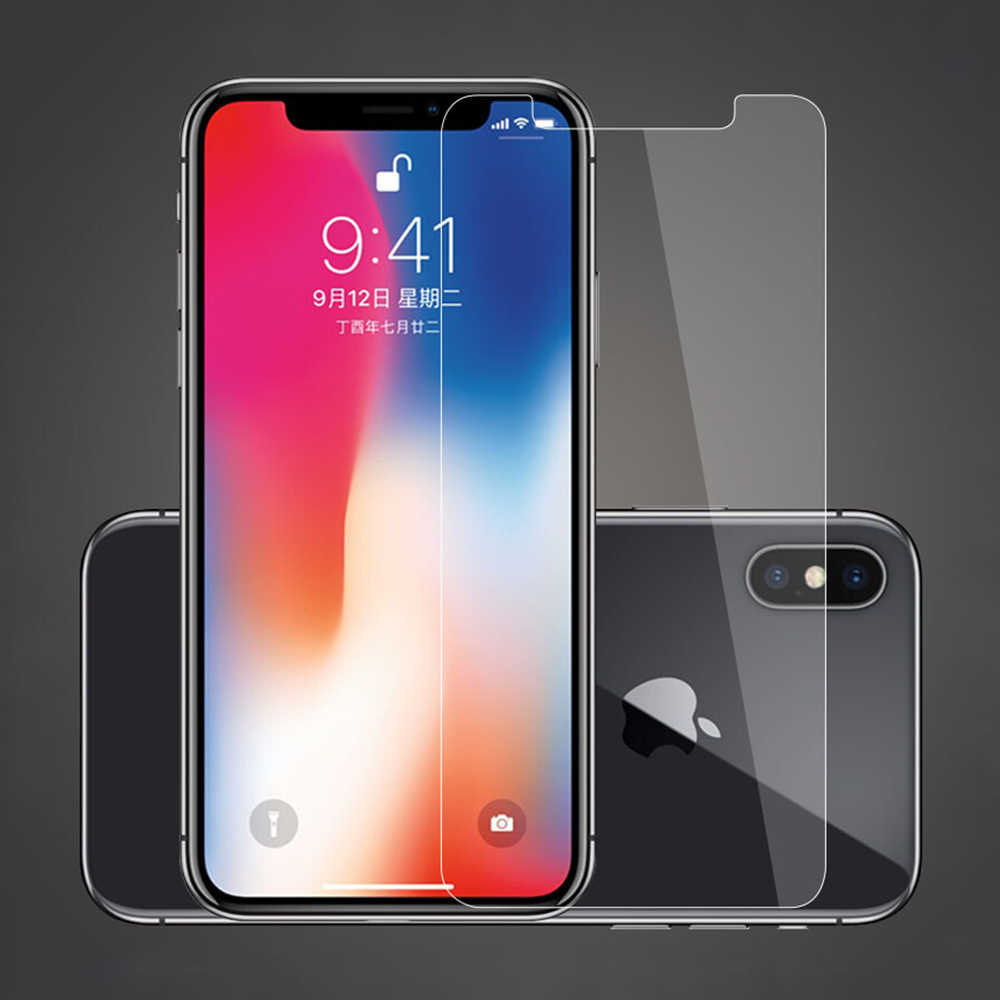 Aicisingn Tempered Glass Sturdy Screen Protector For iPhone 7 8 6 6s Plus Protective Glass Film on the For iPhone X XR XS XSMax