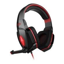 PC Gamer Casque Dazzle LED Lighting Glowing Game Gaming Headphone Headset Earphone Headband Mic Stereo Bass