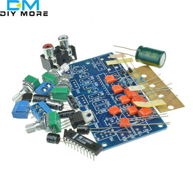 lm1036n fever volume control board kit for 12v dcac power supply diy gm
