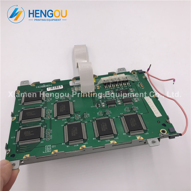 2 Pieces Offset Printing Machinery Spare Parts LCD Display Heidelberg new 20 pieces free shipping heidelberg printing machine spare parts feeder wheel size 60 8mm