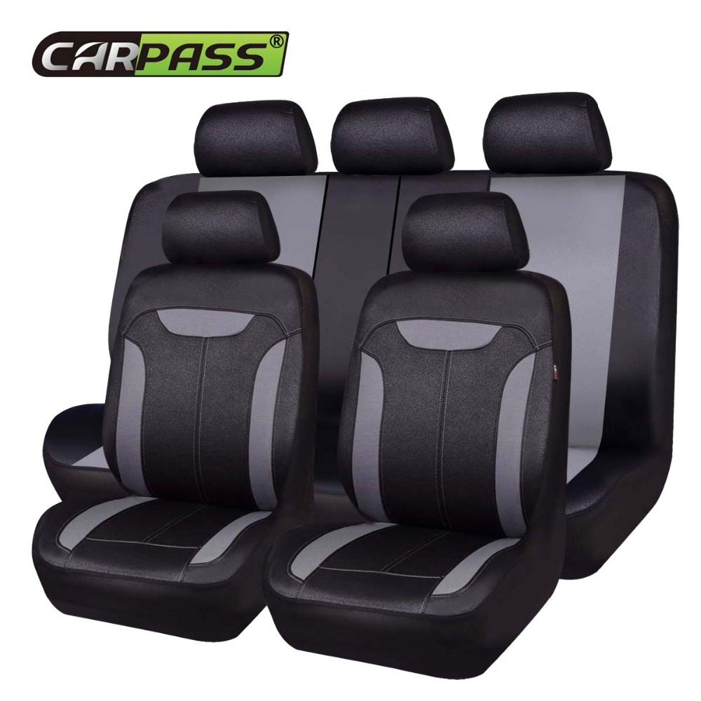 Car-pass Auto Universal Car Seat Covers Car Styling Automotive Interior Accessories Seat Protector Fit Most Cars for Nissan Ford