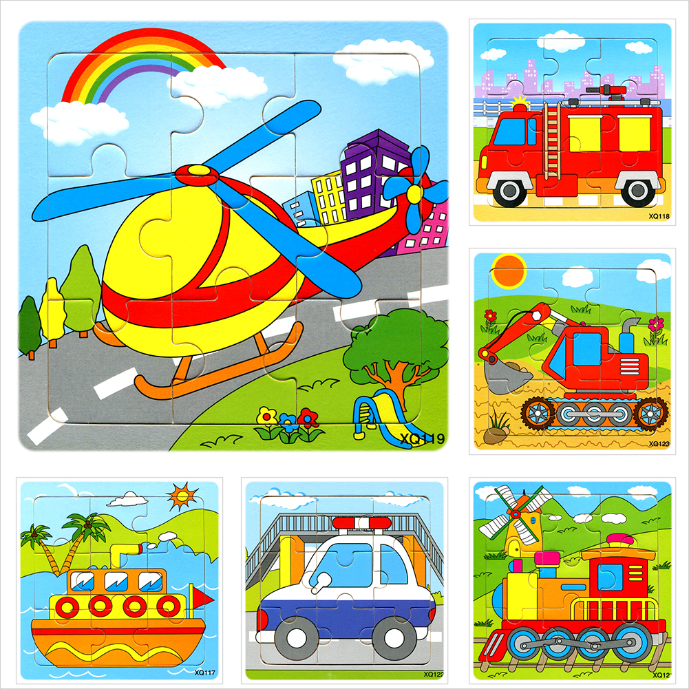 Puzzles For Children Wooden Toys For Children Puzzle