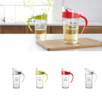 Large Capacity Glass Oil Can Spice Jar Leakproof And Dustproof Food Container Soy Sauce Vinegar Kitchen