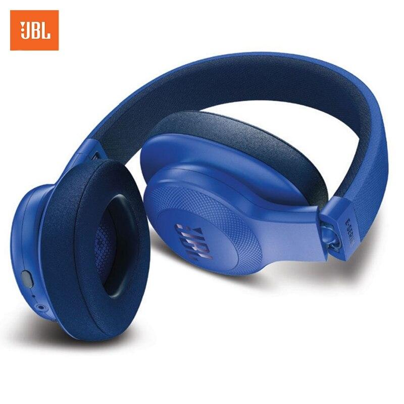 Headphones JBL E55 BT over-ear longet bt 06 bluetooth headphones over ear foldable wireless wired connectivity bluetooth 4 0 hi fi stereo headset support fm
